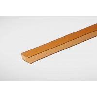 Профиль Полигаль Практичный 8,0 мм x2100 м янтарный